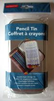 Pencil and Chalk holder - Derwent, tin (empty)