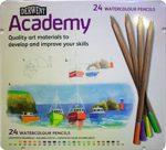 Akvarellceruza készlet – Derwent Academy - 12db; 24db