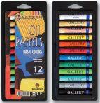 Olajpasztell készlet - Mungyo Artists\' Oil Pastels 12db-os
