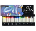 Oil Pastel Set - Daler-Rowney Oil Pastels - 12 pc, 24 pc