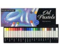 Oil Pastel Set - Daler-Rowney Oil Pastels - 12 pc, 24 pc