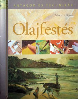 Oil Painting - Book in Hungarian