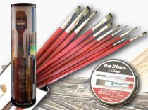 Brush Set - Metal Box Da Vinci College 11 pcs