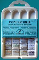 Watercolor paint set - Pannoncolor artist paint ain plastic box, 12 x 2 ml