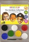 Testfesték, Snazaroo Szivárvány Arcfestő készlet 6db kiegészítőkkel