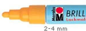 Felt pen - Marabu Brilliant gloss varnish FELT 2-4 mm - different colors