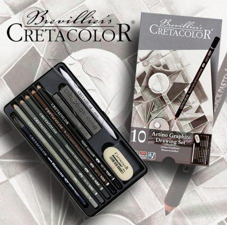 Grafikai készlet - Cretacolor Artino GRAPHIT Drawing Set - 10db