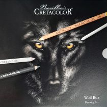 Grafikai készlet - Cretacolor Black & White Box Drawing Set - 25db