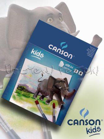 Akvarell tömb - Canson KIDS 200gr, 20lap