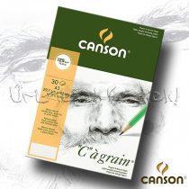 """Vázlattömb - Canson """"C"""" á grain Multi-Technique 125g, 30lap, ragasztott"""