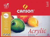 Acrylic Block - Canson ACRYLIC - 10 sheets 36x48cm, 400g