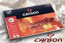 Canson Figueras Oil & Acrylic block for oil and acrylic 24x32cm, 10 sheets, 290g