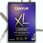 Vázlat és Festőtömb - Canson XL Fluid Mixed Media 250g, 30 sheets, A4