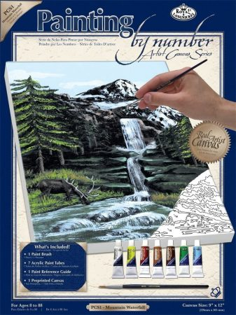 Royal & Langnickel Painting by number PCS1