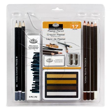 Pasztell-Grafikai készlet - Royal & Langnickel Pastel Pencil Art Set 17pcs