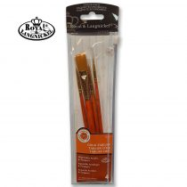 Brush Set - Royal and Langnickel Gold Taklon Syntetic