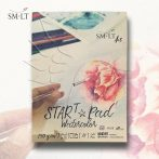 Akvarelltömb - SMLT SARTt PAD Watercolor 240gr, 20 sheets