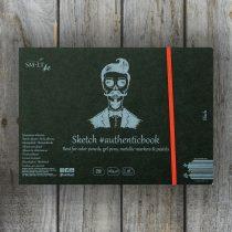 Pasztellelltömb - SMLT Sketch authenticbook - univerzális tömb, 165gr, 18 lap, A/5