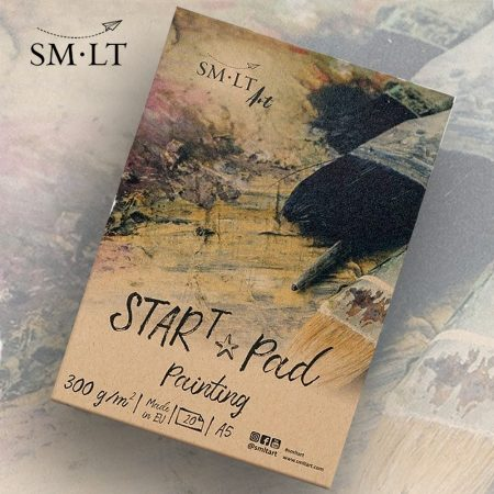 Festőtömb - SMLT STARt PAD Painting 300gr, 20 sheets A/5