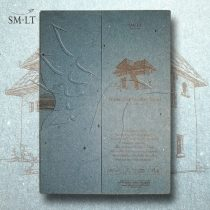 Akvarelltömb - SMLT Watercolor authenticpad in folder, A/4, 280g, 35 sheets