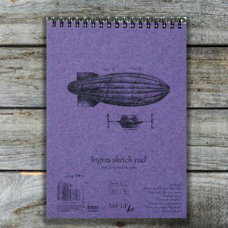 Művész papírtömb válogatás - SMLT Black Sketch Pad A/4 + Start Pad Painting A/5
