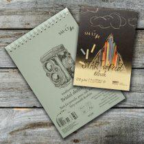 Művész papírtömb válogatás - SMLT Bristol Pad authentic A/4 + Start Pad Black A/5
