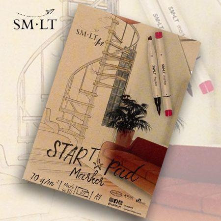 Markertömb - SMLT STARt PAD Marker 70gr, 20 sheets A/4