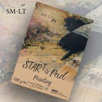 Festőtömb - SMLT STARt PAD Painting 300gr, 20 sheets A/4
