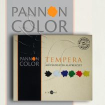 Pannoncolor Artist Tempera set - 6x18ml tube