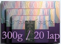 Watercolor block FABRIANO STUDIO - in various sizes of 200 and 300 g