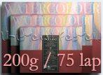 Akvarelltömb FABRIANO - 200g, 75lap