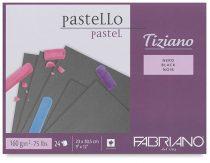 Pasztelltömb Fabriano Tiziano Nero - Fekete