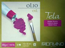 Oil Painting block - Fabriano TELA 42x56cm, 300g, 10 sheets