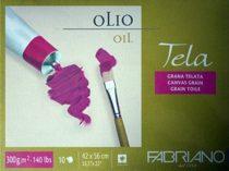 Olajfestő tömb - Fabriano TELA 300g, 10 lap