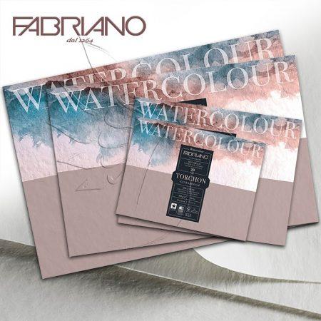 Akvarelltömb FABRIANO Watercolour TORCHON Extra Rough - 300g, 20lap