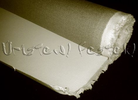 Festővászon - Alapozott, 160cm széles vagy 210cm széles (az ár 1m-re vonatkozik)