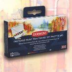 Derwent Inktense Paint Pan Travel Set Palette #02 12pcs