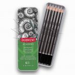 Skicc ceruzakészlet - Derwent Academy Sketching Pencils Tin Set 6pcs