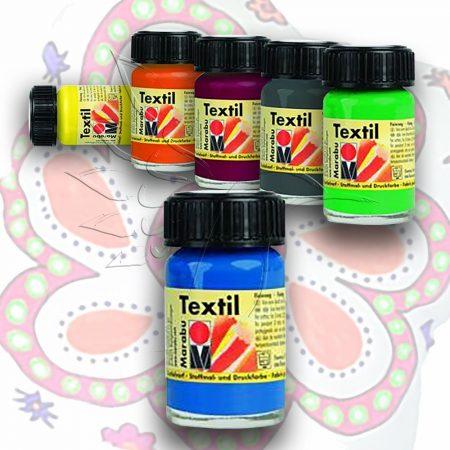 Textile Paint - Marbu - 15 ml - dark green 068