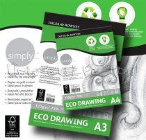 Vázlattömb - Daler-Rowney Simply ECO Drawing - 50 lap, 120gr/nm