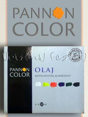 Olajfesték készlet - Pannoncolor Művészfesték - alapkészlet