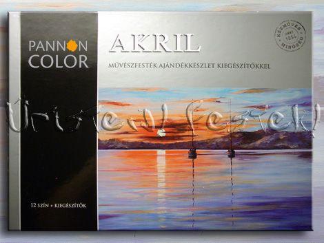 Acrylic Painting Set Pannoncolor - 21 pc