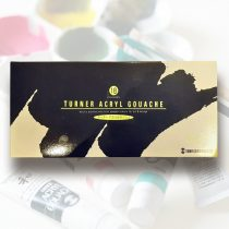 Akrilfesték készlet 18 szín - Turner Acryl Gouache G 18x11ml