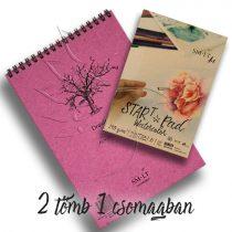 Művész papírtömb válogatás - SMLT Drawing Pads authentic A/4 + Start Pad Watercolor A/5