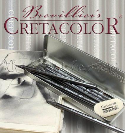 Grafikai készlet - Cretacolor Monolith Box Graphite Drawing Set 7