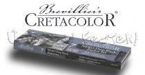 Grafikai készlet - Cretacolor NERO Deep Black Pocket Set, 7db-os, fémtartóban