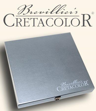 Grafikai készlet - Cretacolor Silver Graphite Box set