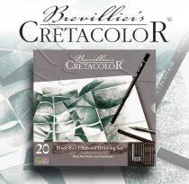 Grafikai készlet - Cretacolor Black Box Charocoal Drawing Set - 20db