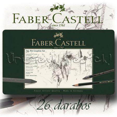 Grafikai készlet - Faber-Castell Pitt Graphite Set 26pcs