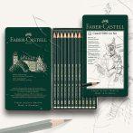 Grafitceruza készlet - Faber-Castell 9000 Art Set Tin 2H-8B 6pcs